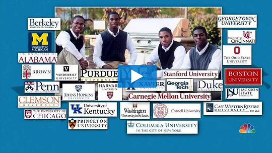 Quadruplets who were admitted to Yale.