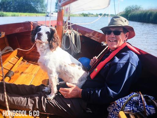 Poppy, the sailor dog