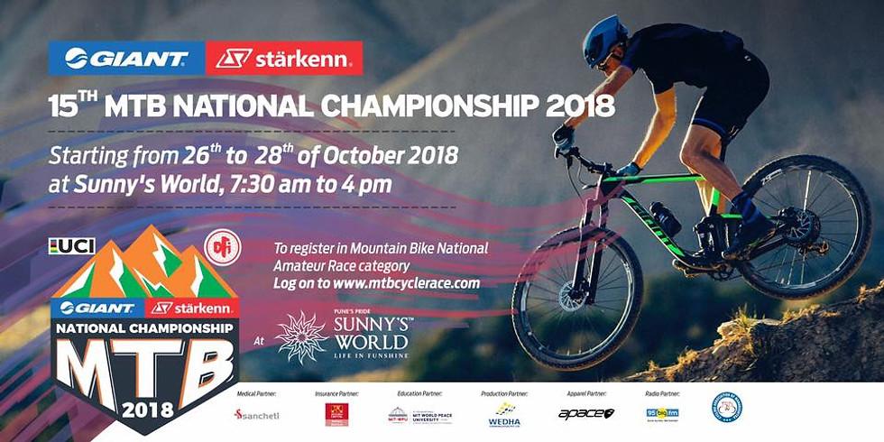 XV National Mountain Bike Championship 2018