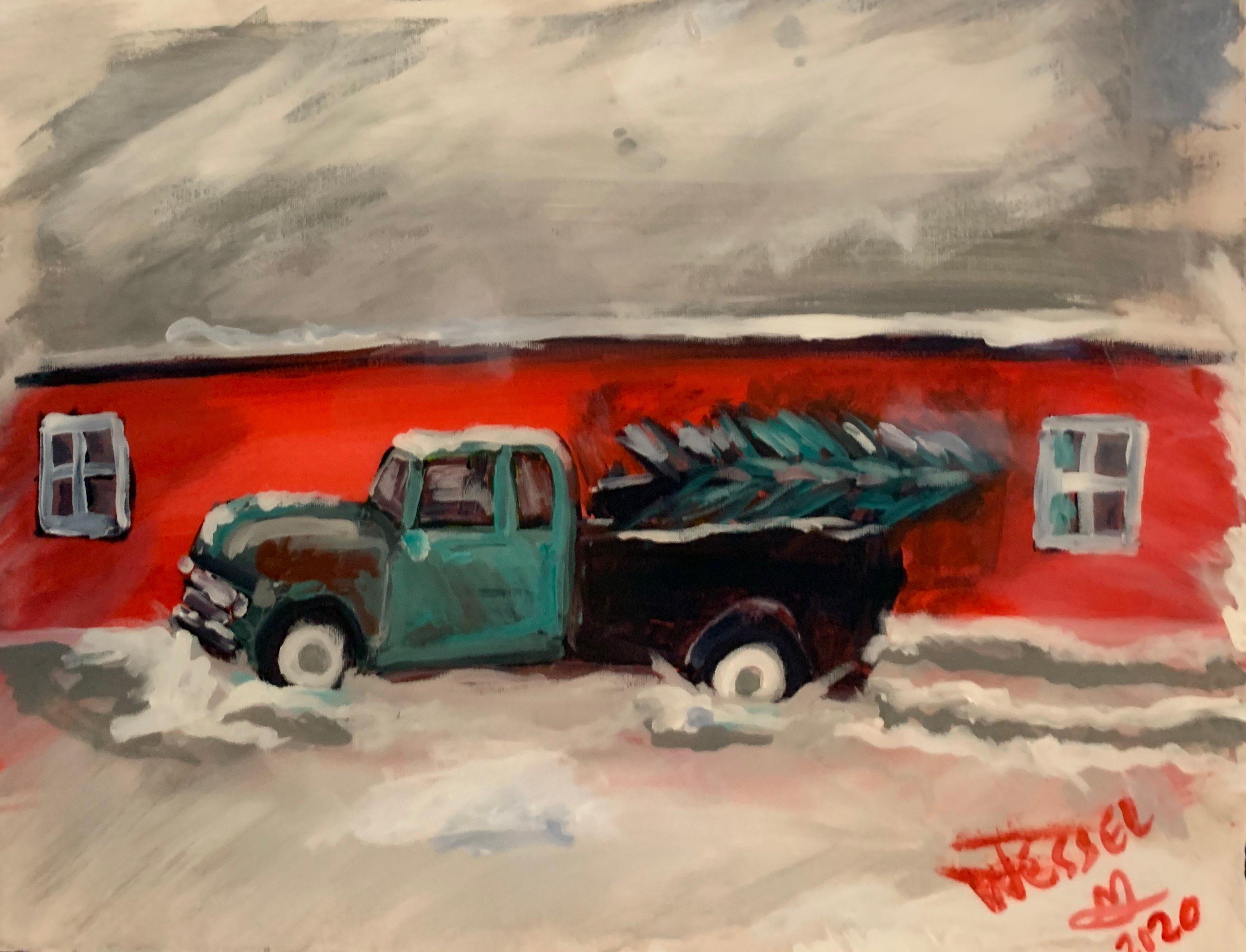 """Pretty Old Truck"""