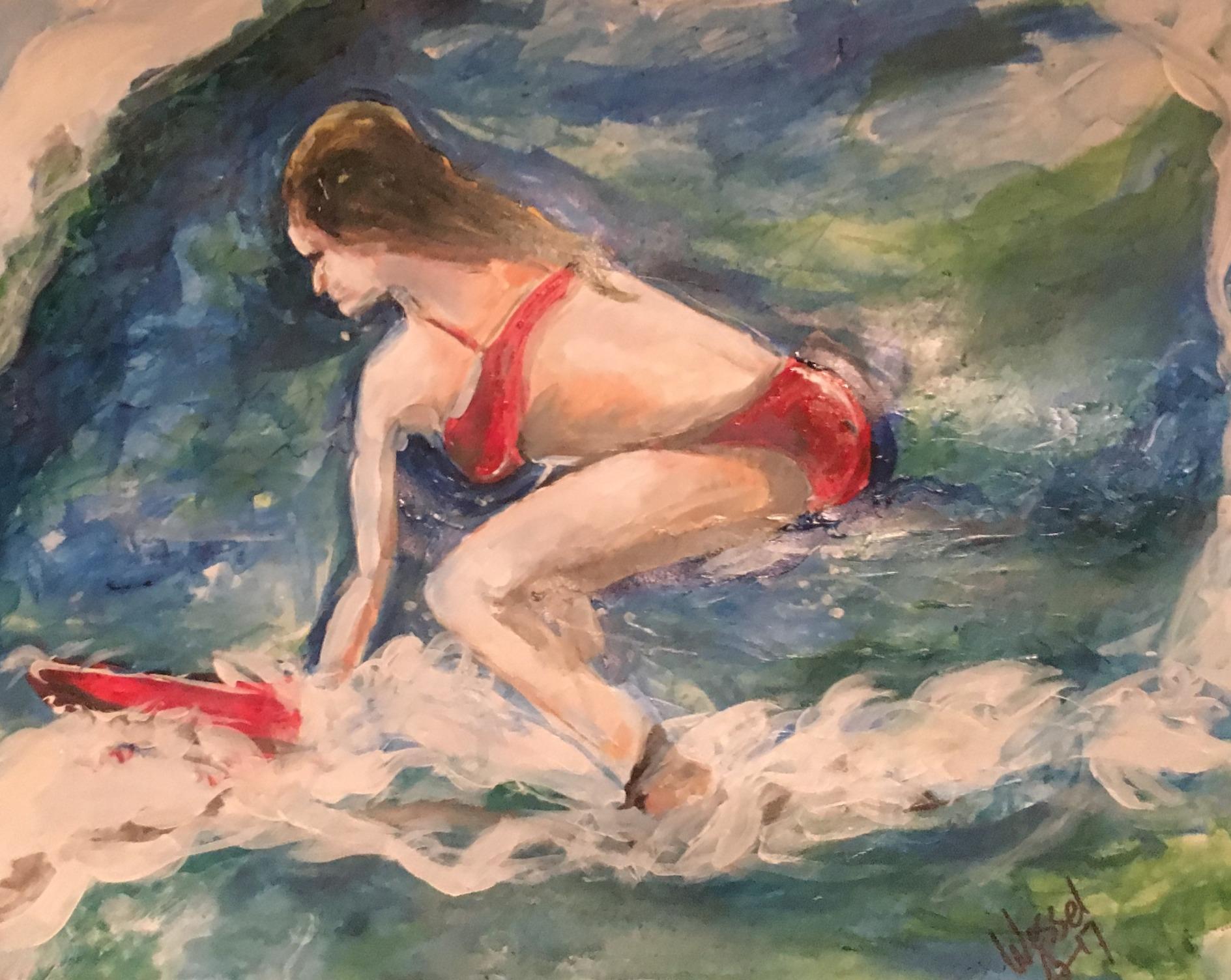 The Little Surfer Girl