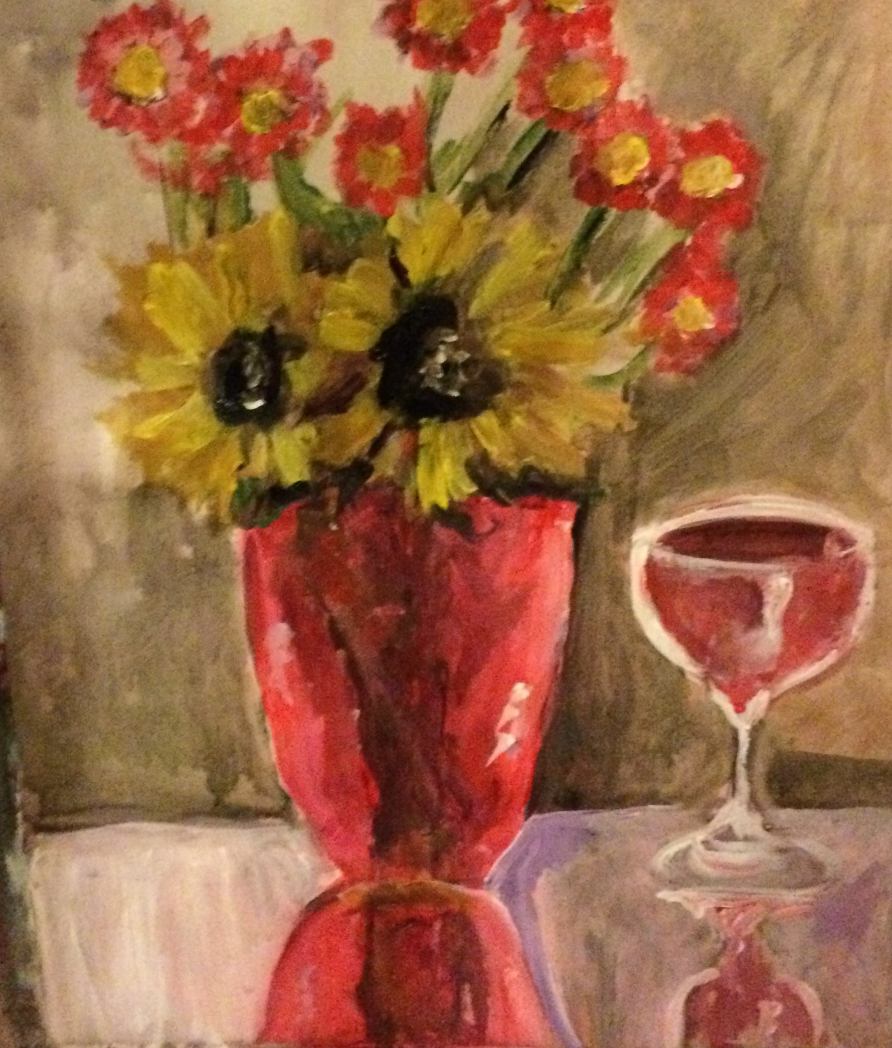 Picasso's flowers Wessel style
