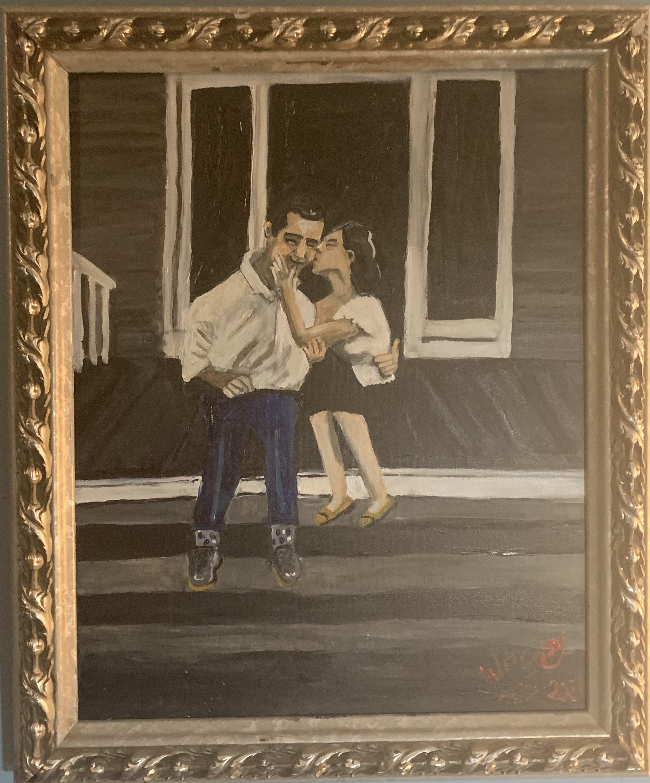 justkissinonthe porch framed