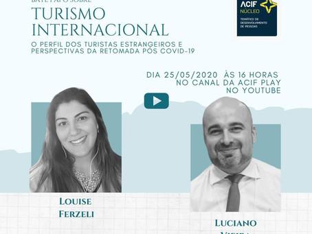 Turismo internacional: o perfil dos turistas estrangeiros e perspectivas de retomada.