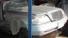 メルセデスベンツ GL1995年式ハーフカット