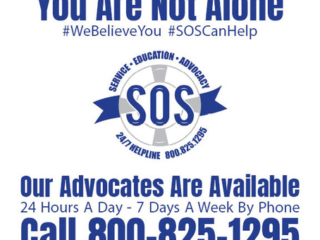 SOS 24/7 Helpline & Services Are Still Available
