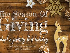 SOS Annual Holiday Drive Has Begun