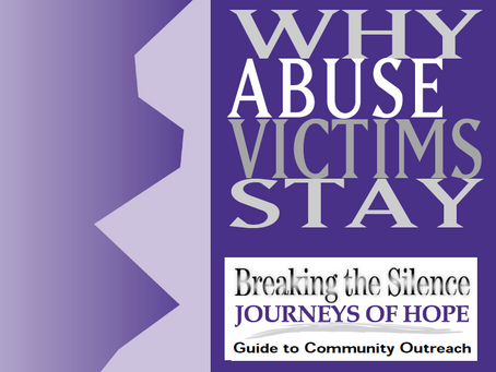 Why Abuse Victims Stay