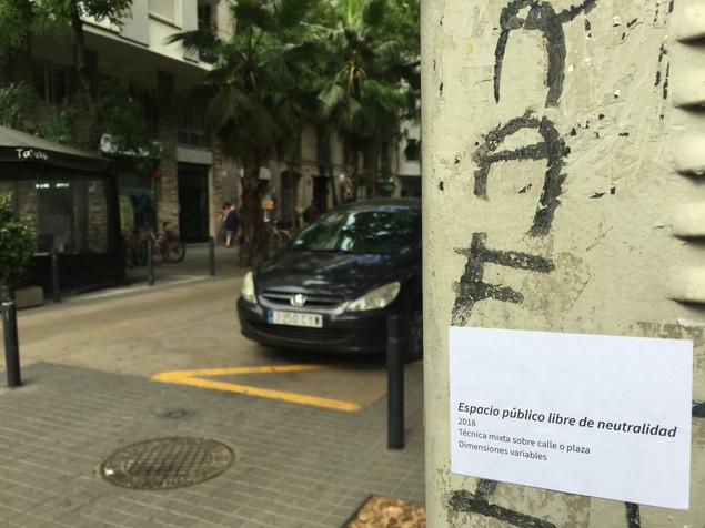 espacio público libre de neutralidad