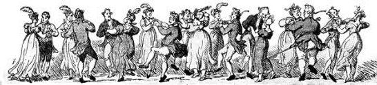 a traditional barndance