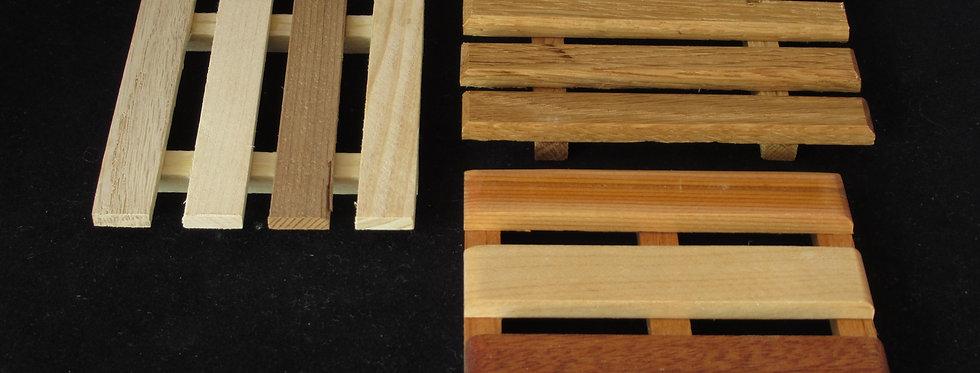 Wooden Soap Rack
