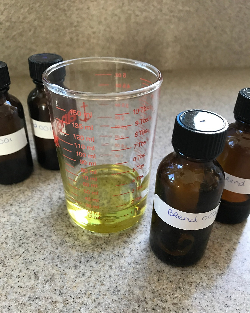 Researching essential oil blends