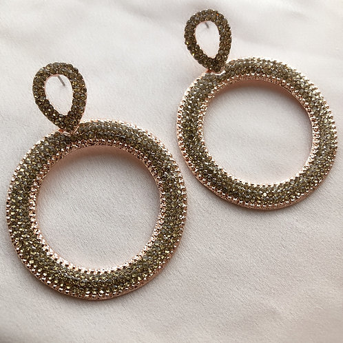 Lou Lou Earrings - Rose Gold