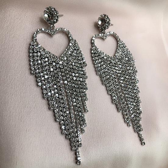 Fifi Heart Earrings