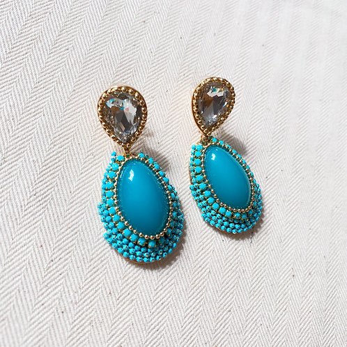 Aqua Diamond Drops