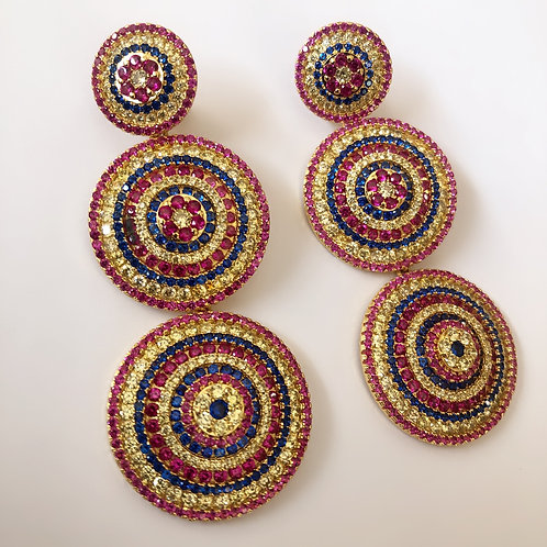 Eva Mendes Earrings