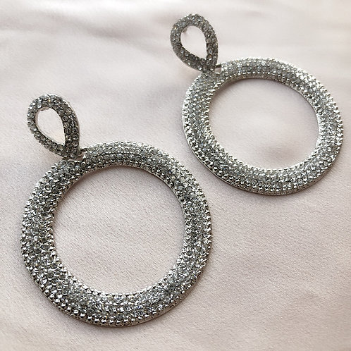 Lou Lou Earrings - Silver