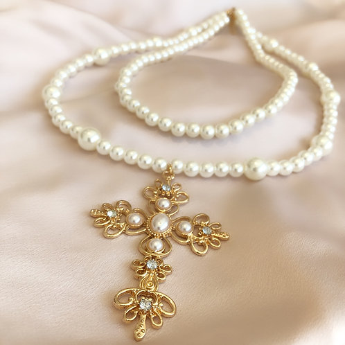 Dolce Cross Necklace