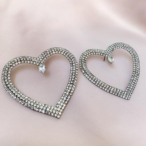 Love Island Earrings - Silver