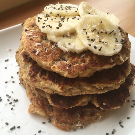 Pancakes banane / coco