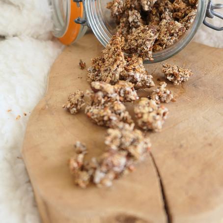 Granola healthy, sans sucre & sans gluten