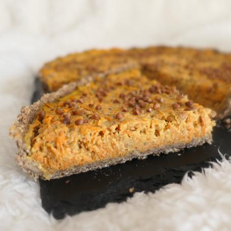 Tarte carottes & sardines aux épices