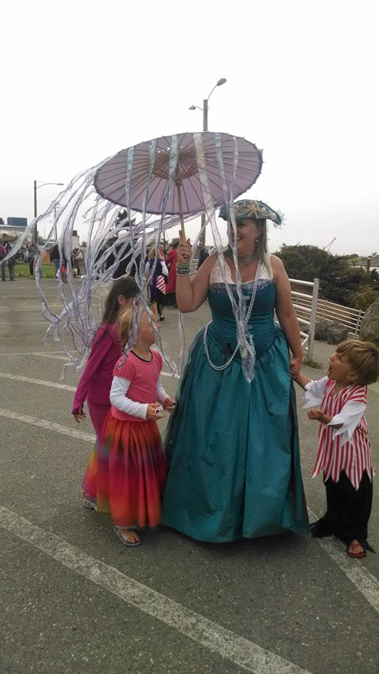 Love the Jellyfish Umbrella!