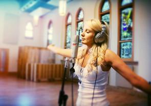 Dianna Corcoran in Studio