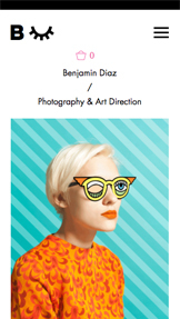 Commercial & Editorial website templates – Photographer & Art Director