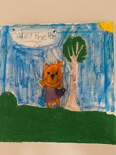 Sydney the Pooh Bear