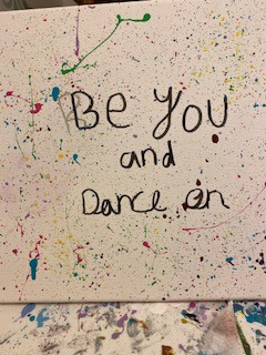 Be you and dance on!