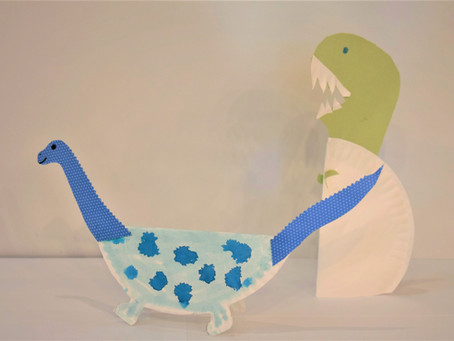 Make a paper plata-a-saurus