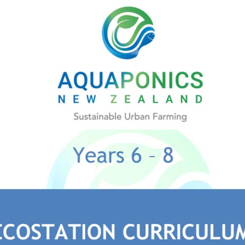 The EcoStation Curriculum for year 6 -8