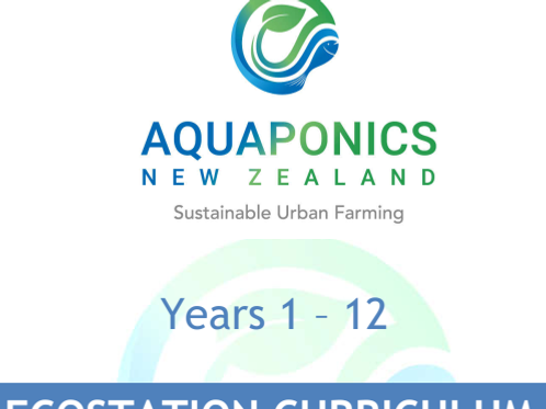Aquaponics Ecostation- Year 1 - 12 Curriculum
