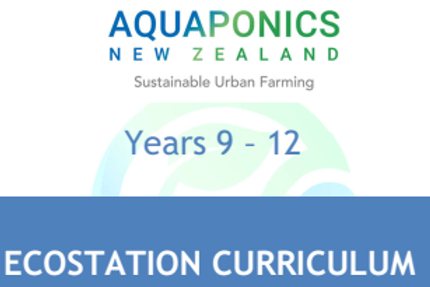 The EcoStation Curriculum for year 9 - 12