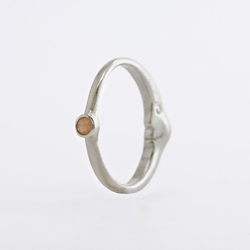 -SALE- Day&Night Ring, Silver
