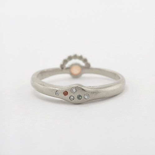 Twilight Ring Silver