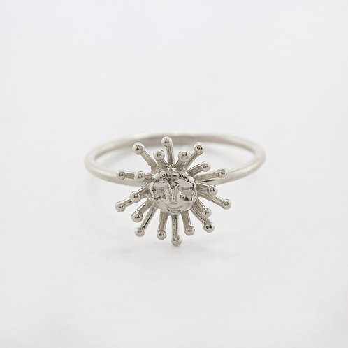 Daydreaming Sun Ring Silver