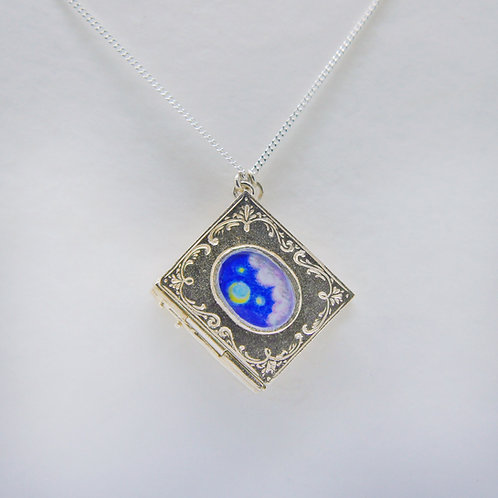 Your Story Book Locket, Silver
