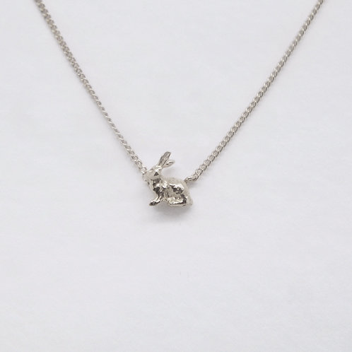 Hare Necklace Silver