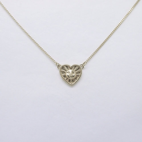 Sunrays of Love Necklace,Silver