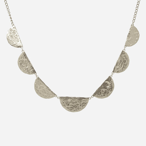 Rendezvous in the Sky Necklace, Silver