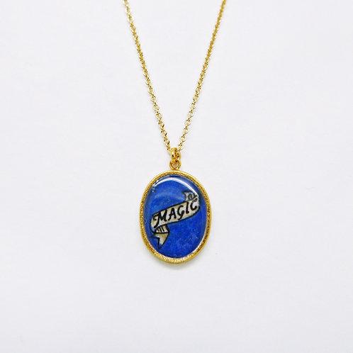 Blue Magic Pendant