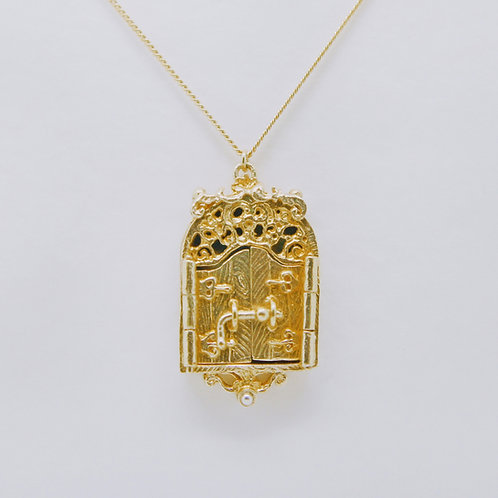 Magical Door Pendant Gold-Plated