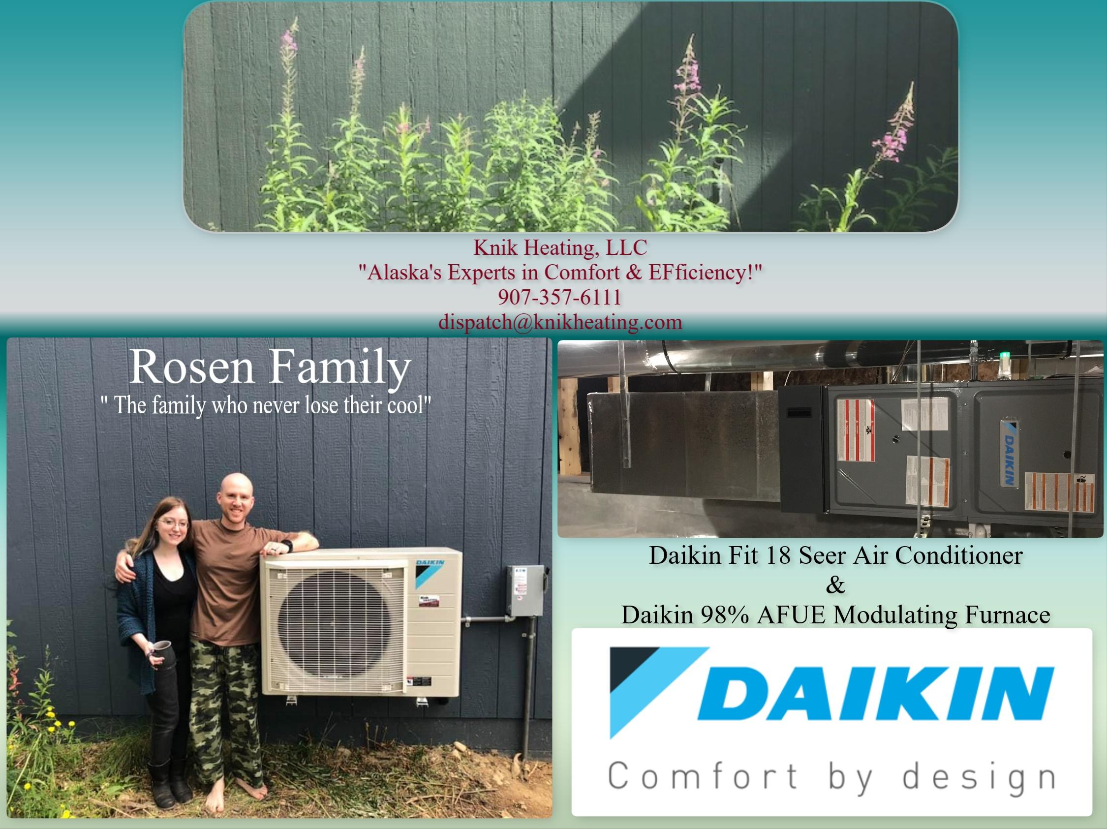 Rosen Daikin Fit Installation