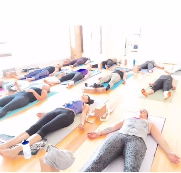 Oursimple mission is that everyone leaves smiling and sweaty. All levels welcome at all times. Studio is typically heated to 73degrees.