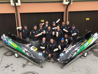 Night Train sleds finish 11th and 17th at World Championships