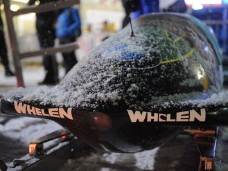 Heavy snow at World Championships 4man