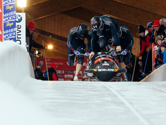 Holcomb leads USA with 8th place in French Alps