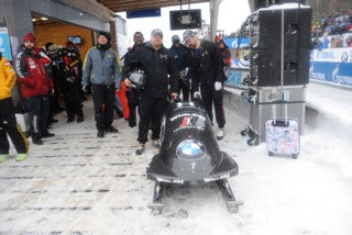 TOUGH DAY FOR NIGHT TRAIN SLEDS AT WORLD CUP OPENER IN WINTERBERG, GERMANY